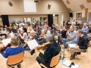 Repetitie Winterconcert januari 2017